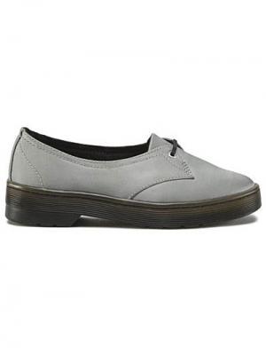 Ботинки Dr.Martens. Цвет: серый