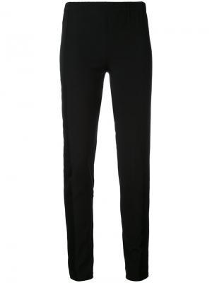 Облегающие брюки A.F.Vandevorst. Цвет: чёрный
