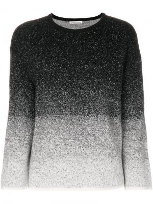 Speckled sweater Stefano Mortari. Цвет: чёрный