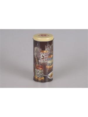Емкость для сыпучих продуктов Magic Home. Цвет: коричневый