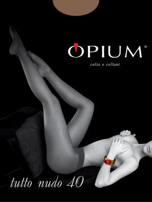 Колготки OPIUM. Цвет: бежевый