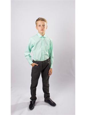 Рубашка OZORNIK. Цвет: серо-зеленый