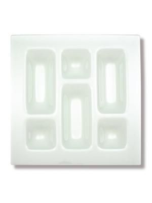 Подстановочная тарелка Gusto Contento. Цвет: прозрачный