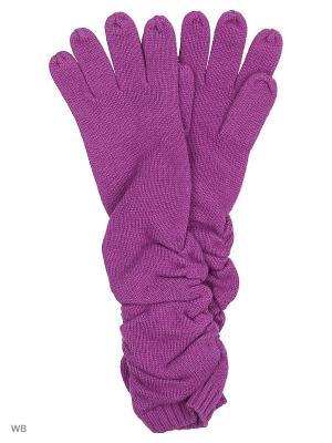 Перчатки Pur. Цвет: фиолетовый