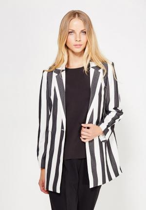 Пиджак Silvian Heach. Цвет: черно-белый