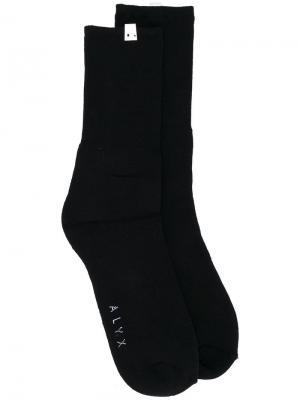 Носки Snawa Alyx. Цвет: чёрный