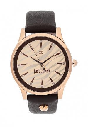 Часы Just Cavalli. Цвет: коричневый