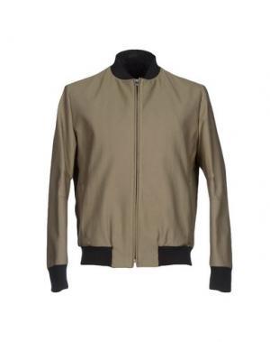 Куртка MARIO MATTEO. Цвет: зеленый-милитари
