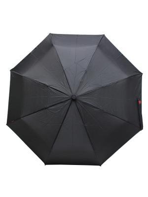 Зонт Bisetti. Цвет: черный, красный