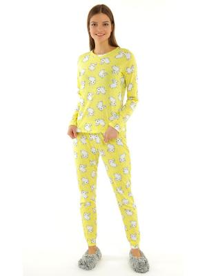 Пижама ТВОЕ. Цвет: желтый