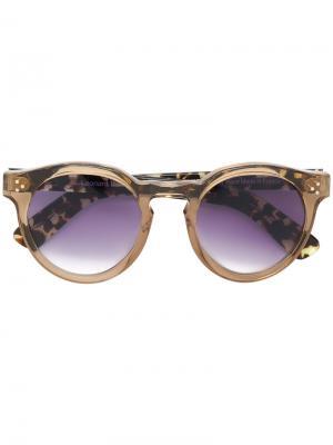 Солнцезащитные очки Leonrad II Illesteva. Цвет: коричневый