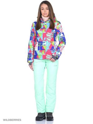 Куртка High Experience. Цвет: синий, малиновый