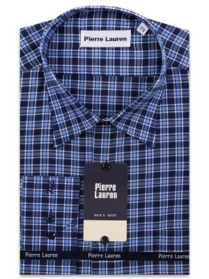Рубашка Pierre Lauren. Цвет: синий, голубой