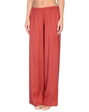 Пляжные брюки и шорты GRAZIA'LLIANI SOON. Цвет: красно-коричневый