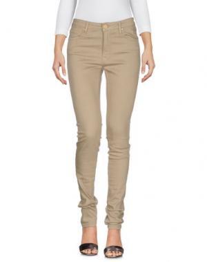 Джинсовые брюки DON'T CRY. Цвет: голубиный серый