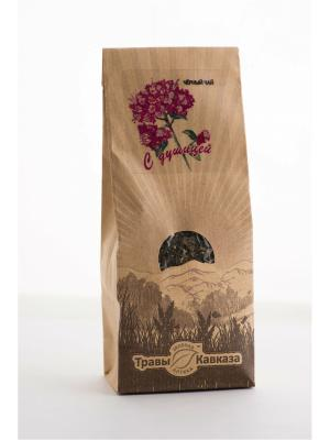 Чай черный с душицей Травы Кавказа. Цвет: бежевый