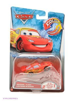 Машинка из серии Disney Cars Mattel. Цвет: красный, желтый