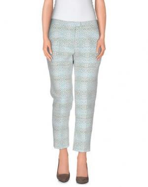 Повседневные брюки AXARA PARIS. Цвет: небесно-голубой