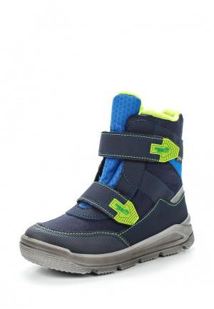 Ботинки Superfit. Цвет: синий