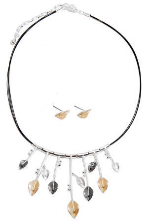Комплект Asavi Jewel. Цвет: серебряный, серый, золотой