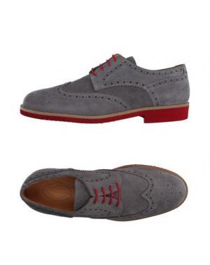 Обувь на шнурках HERMAN & SONS. Цвет: серый