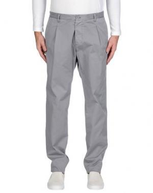 Повседневные брюки OFFICINA 36. Цвет: серый