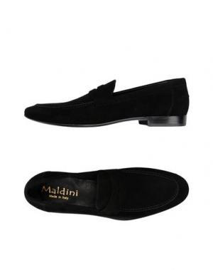 Мокасины MALDINI. Цвет: черный