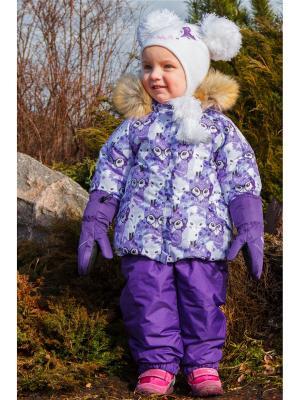 Комплект (куртка+полукомбинезон) REIKE. Цвет: фиолетовый