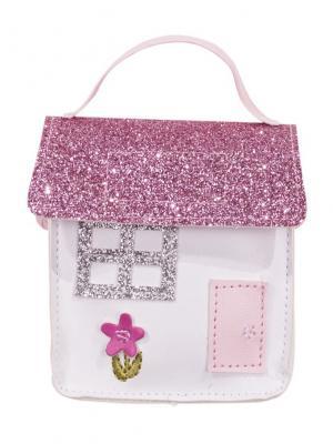 Сумка для куклы GOTZ. Цвет: розовый, белый
