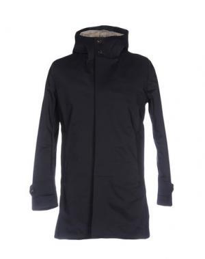 Пальто RRD. Цвет: темно-синий