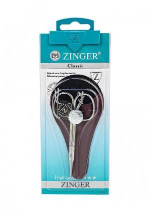 Ножницы для маникюра Zinger. Цвет: черный