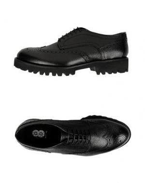 Обувь на шнурках 8. Цвет: черный