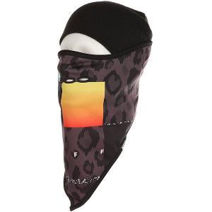 Маска  Mountain Facemask Psychosafari Neff. Цвет: черный,серый,оранжевый