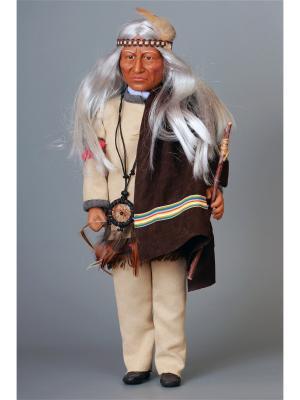 Кукла Toro Sentado- Полководец Lamagik S.L. Цвет: темно-коричневый, бежевый, кремовый