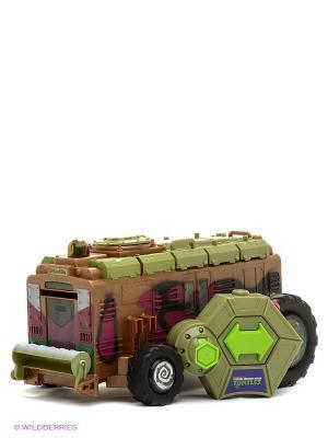 Вагон метро Черепашки Ниндзя Playmates toys. Цвет: коричневый, оливковый, черный