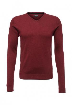 Пуловер Fresh Brand. Цвет: бордовый