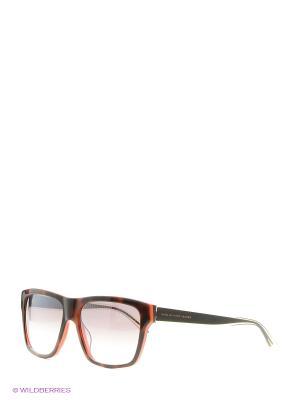 Солнцезащитные очки Marc by Jacobs. Цвет: черный, рыжий