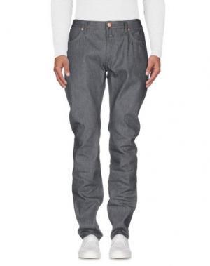 Джинсовые брюки CLOSED. Цвет: серый