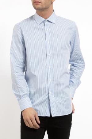 Рубашка Pierre Balmain. Цвет: sky bkue striped