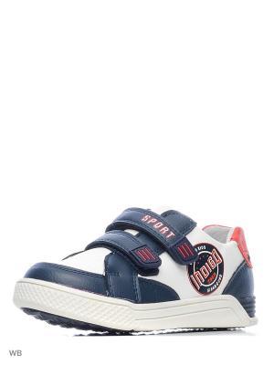 Ботинки Indigo kids. Цвет: белый, синий