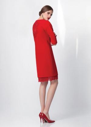 Платье  арт. 4866 черное Burvin