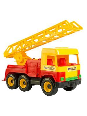 Middle truck пожарная ТИГРЕС. Цвет: желтый, синий, зеленый, красный