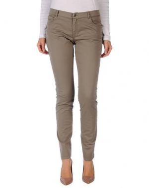 Повседневные брюки ROSSOPURO. Цвет: хаки