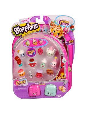 Игровой набор Shopkins: 12 фигурок с аксессуарами Moose. Цвет: розовый