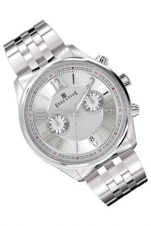 Часы Executive. Цвет: серебряный