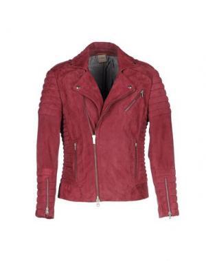 Куртка D'AMICO. Цвет: пурпурный
