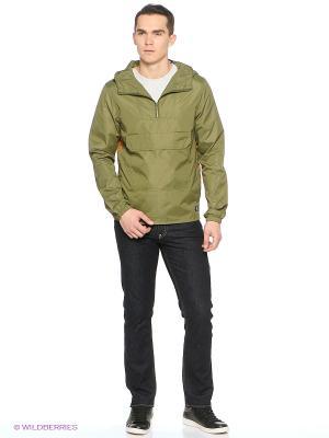 Куртка DC Shoes. Цвет: оливковый