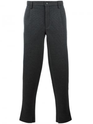 Прямые брюки Kolor. Цвет: чёрный