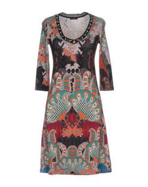 Короткое платье CUSTO BARCELONA. Цвет: черный