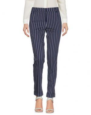 Повседневные брюки CRISTINA ROCCA. Цвет: темно-синий